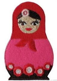 Babuska Strijkapplicatie Roze