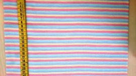 Boordstof pastel streep