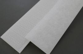 Opnaaibaar Klitteband  Wit