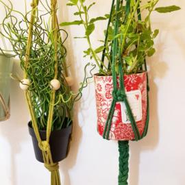 Macrame plantenhanger