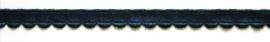 Elastisch Kant  Donker Blauw breedte 10 mm.