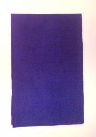Vilt Donkerblauw