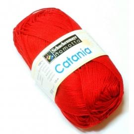 Catania katoen rood