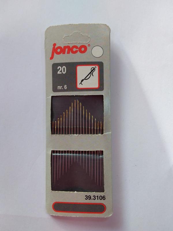Jonco naalden 20 stuks
