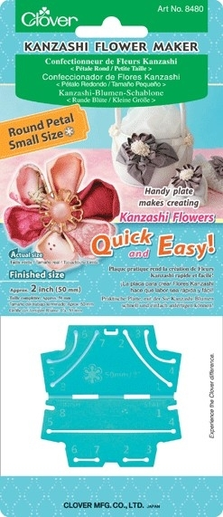 Kanzashi flower maker 6 blaadjes - 50 mm