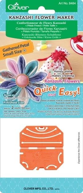 Kanzashi flower maker 8 blaadjes - 50 mm