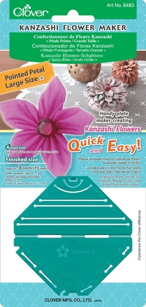 Kanzashi flower maker 5 blaadjes - 75 mm