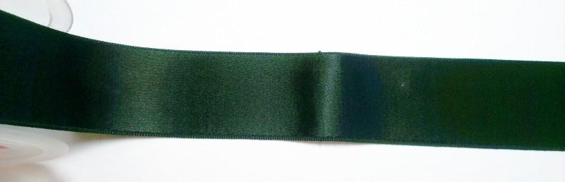 Satijnlint 38 mm zwart