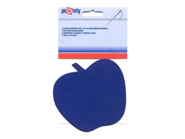 Kniestuk appel blauw