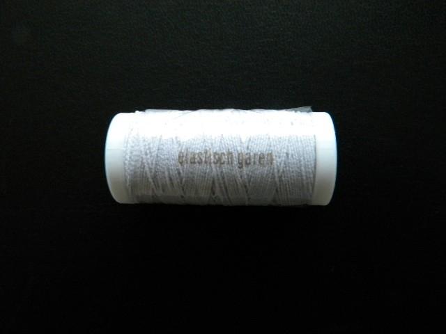 Transparant garen wit