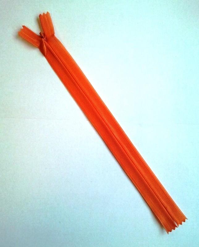 Blinde rits 22 cm Orange 5
