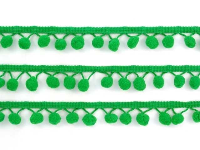 Bolletjesband groen