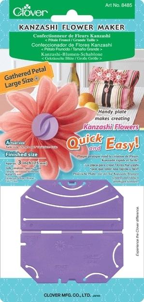 Kanzashi flower maker 8 blaadjes - 75 mm