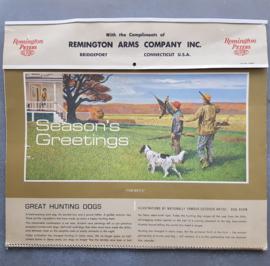 Remington Arms kalender 1967