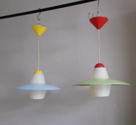 Kunststof jaren 60 lampen