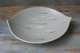 Jaren 60 ovalen schaal