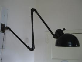 Fantastische Bauhaus wandlamp, jaren 30 (a)
