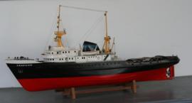 """Scheepsmodel zeesleper """"De Zwarte Zee"""""""