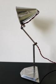 2 super Art deco tafellampjes,  Pirouette, Paris.