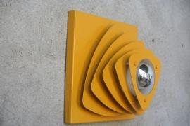 Jaren 70 wandlamp