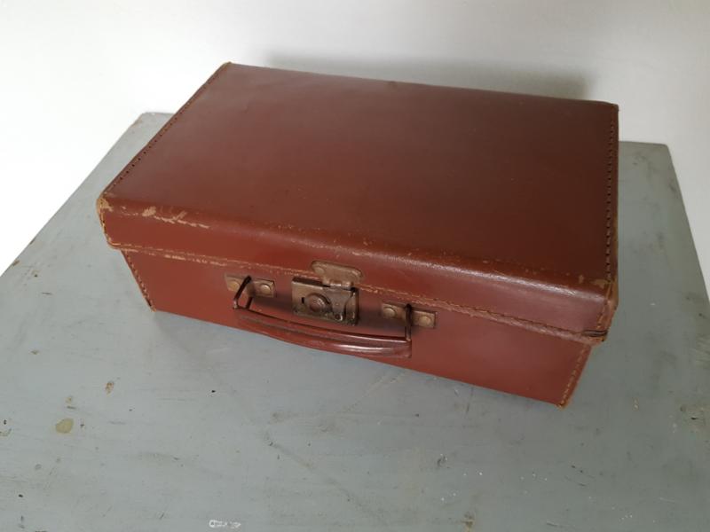 Klein Lederen koffertje