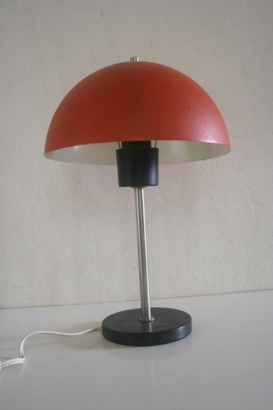 jaren 60 tafellampje. HALA ?