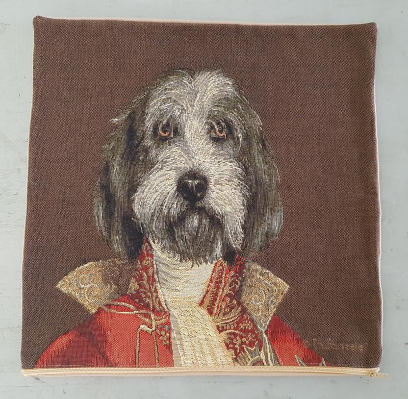 Otterhound Dog / Thierry Pourcelet Kussen