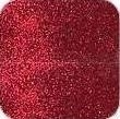 glitterpoeder donker rood +/- 10 gram