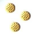 spikey spots goud +/- 40 stuks 6mm