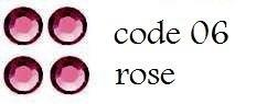 06 ss4 1,5mm rose +/-  900 stuks