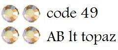 49 megapack AB lt topaz 1200 stuks