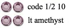 1/210 3mm lt amethyst +/-400 stuks