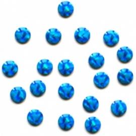 305 brighties aqua 2mm +/- 400 stuks