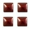 vierkant rood 3x3mm 100 stuks