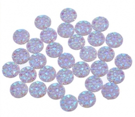 diamond light purple 10 stuks (10mm)