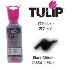 3d verf glitter black 37ml