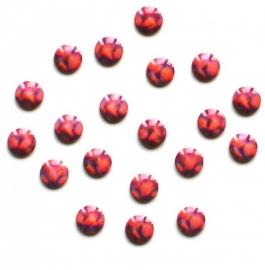 304 brighties rose 4mm +/- 100 stuks