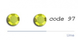 97 2mm studs lime 200 + 200 gratis