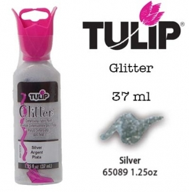 3d verf glitter silver 37ml