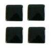 vierkant zwart 3x3mm 100 stuks