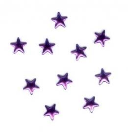 ster paars 6mm 100 stuks