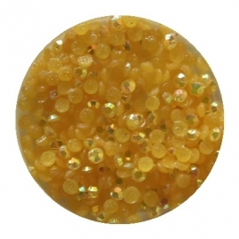 resin ab yellow/orange 2mm 800 stuks