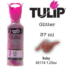 3d verf glitter ruby 37ml