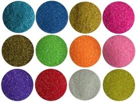 glitter dust 12 kleuren