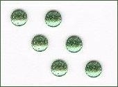 3mm glitteries emerald (7) +/- 400 stuks