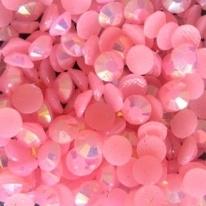 resin licht roze AB 2mm 1000 stuks