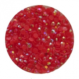 resin ab red 2mm 800 stuks