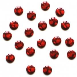 302 brighties rood 4mm +/- 100 stuks