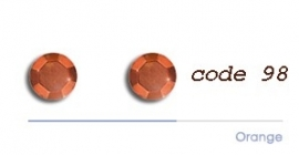 98 2mm studs orange 200 + 200 gratis