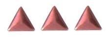 driehoekje rose +/- 40 stuks